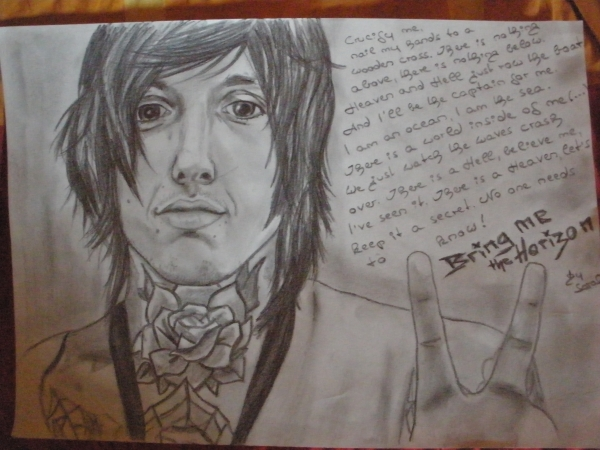 Oliver Sykes by drawing.my.dreams